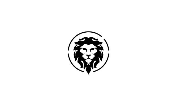 lion vintage icon vector For your stock vector needs. My vector is very neat and easy to edit. to edit you can download .eps. lion stock illustrations