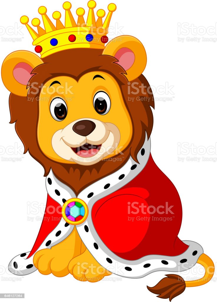 Lion With Crown Stock Illustration Download Image Now Istock Connect with them on dribbble; lion with crown stock illustration download image now istock