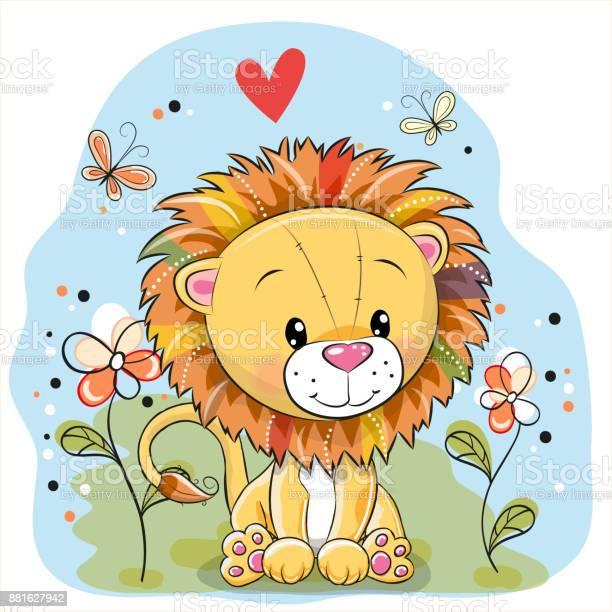 Lion with flowers and butterflies on a meadow vector id881627942?b=1&k=6&m=881627942&s=612x612&h=qzixbz3jnutzflqavz9zyeu999c1e4ggzttpt2wlk0s=