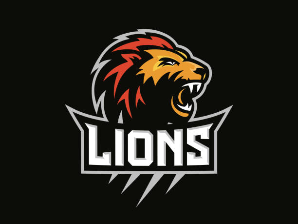 Best Lion Logo Illustrations, Royalty-Free Vector Graphics