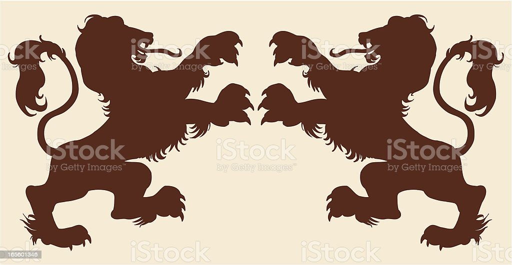 Lions royalty-free lions stock vector art & more images of animal