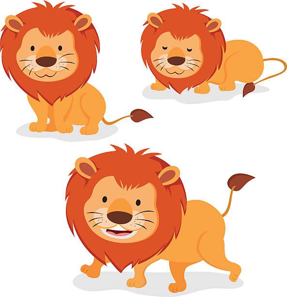 illustrations, cliparts, dessins animés et icônes de lions - lion