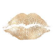 istock Lip imprint 1198276670