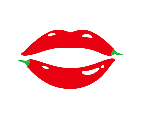lip of pepper