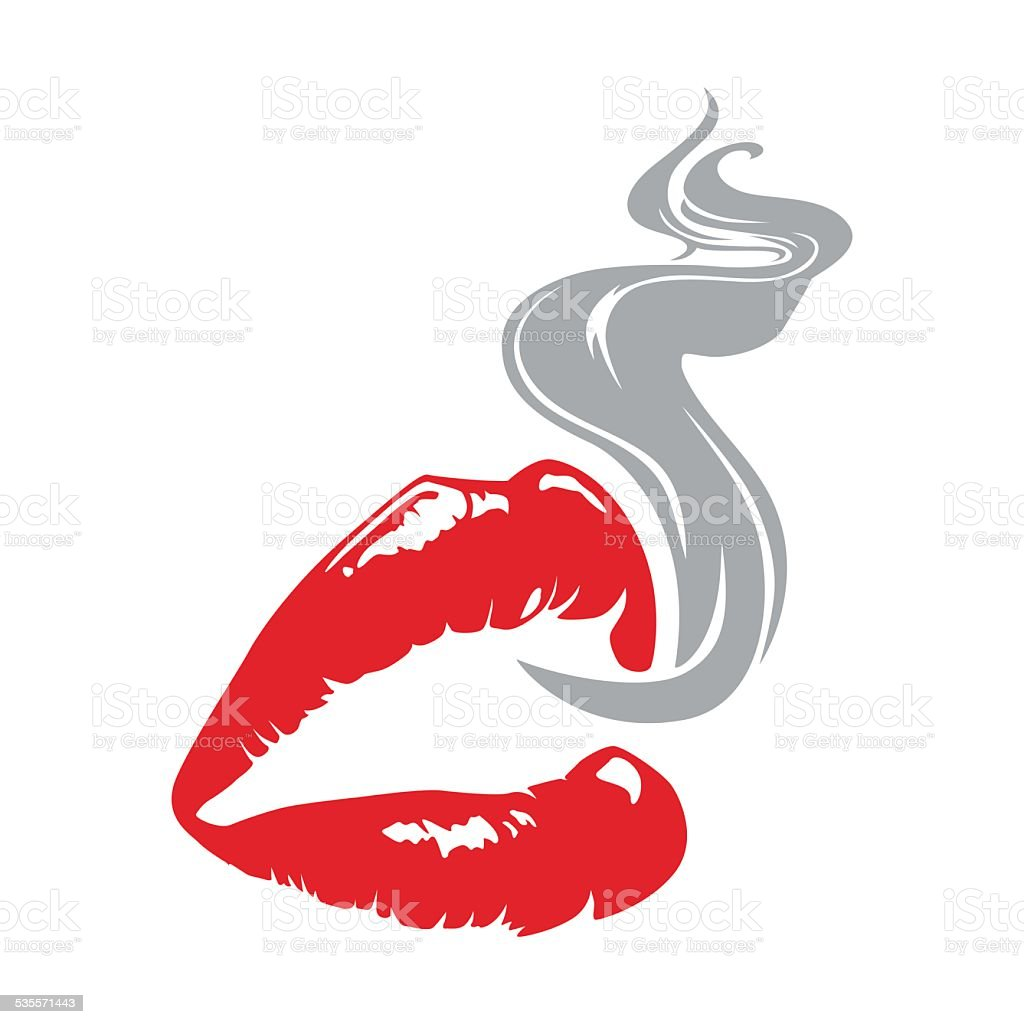 lips and smoke stock vector art more images of 2015 535571443 istock rh istockphoto com smoke vector transparent background smoke vector png