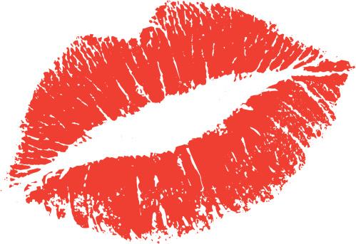 Lipstick Kiss Shape
