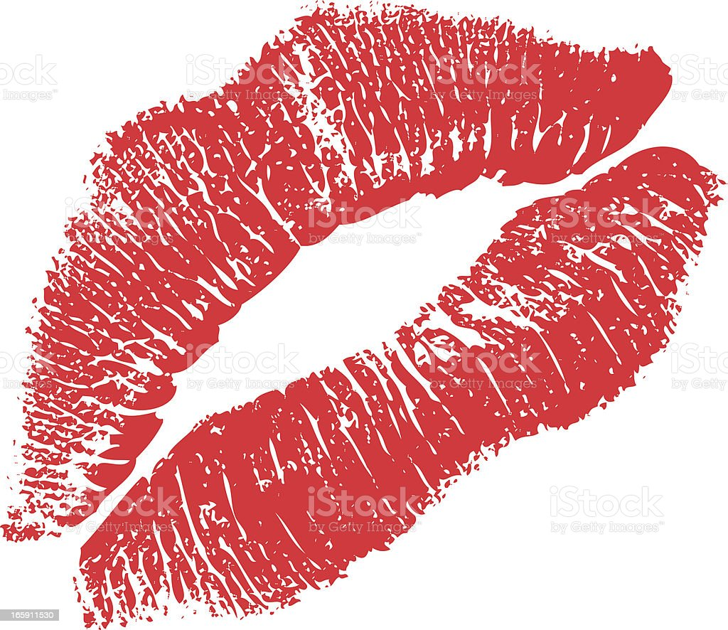 Lipstick Kiss Stock Vector Art & More Images of Adult ...
