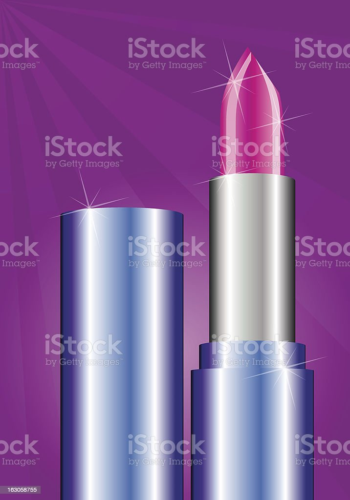 Lipstick vector art illustration