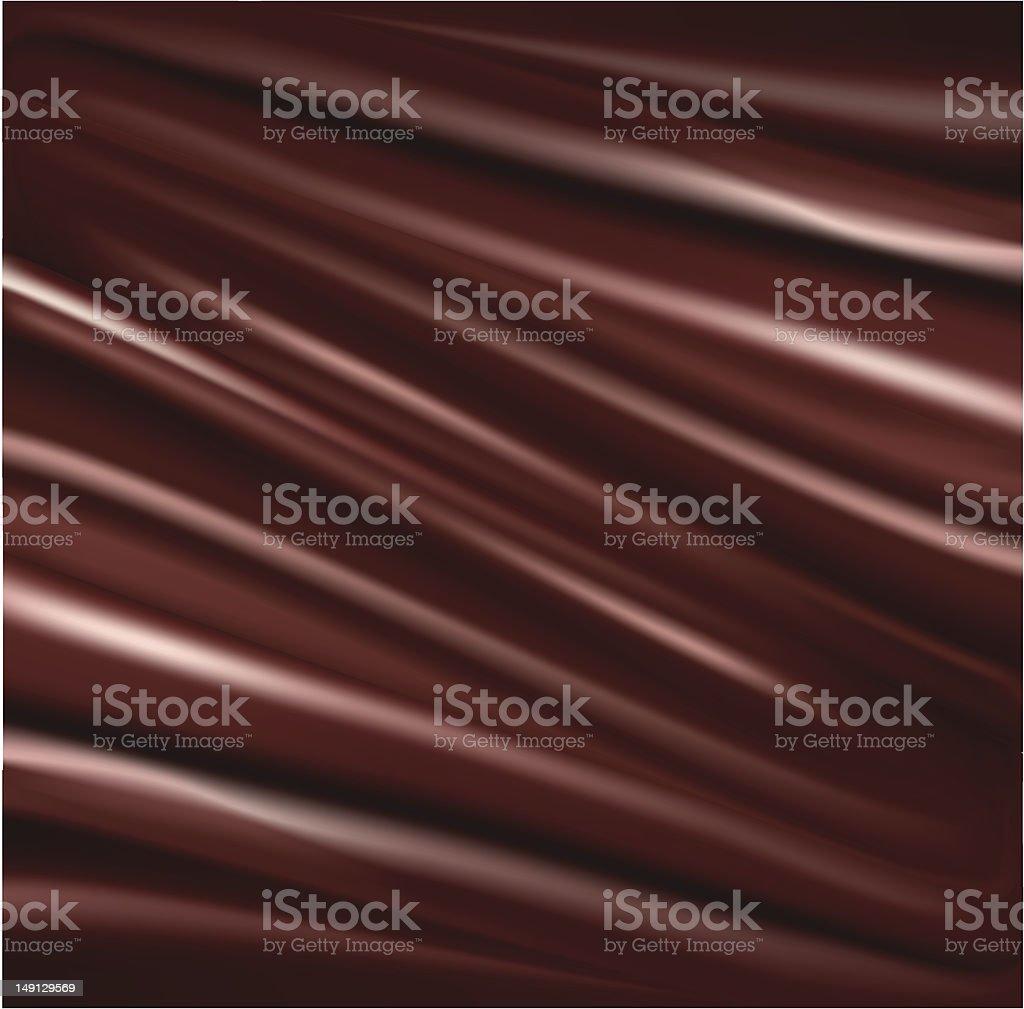 Liquid chocolate royalty-free stock vector art