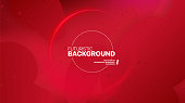 Liquid color background design. Fluid red gradient shapes. Design landing page. Futuristic abstract composition. Vector Illustration