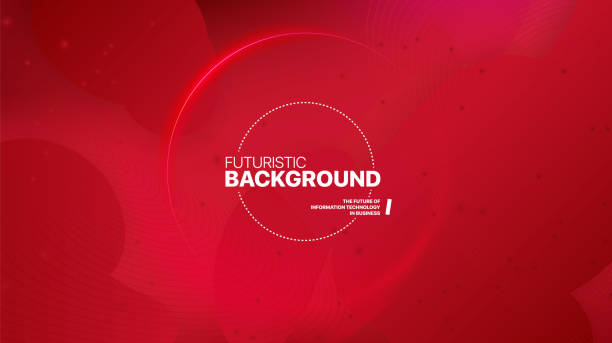 liquid color background design. fluid red gradient shapes. - cztery żywioły stock illustrations