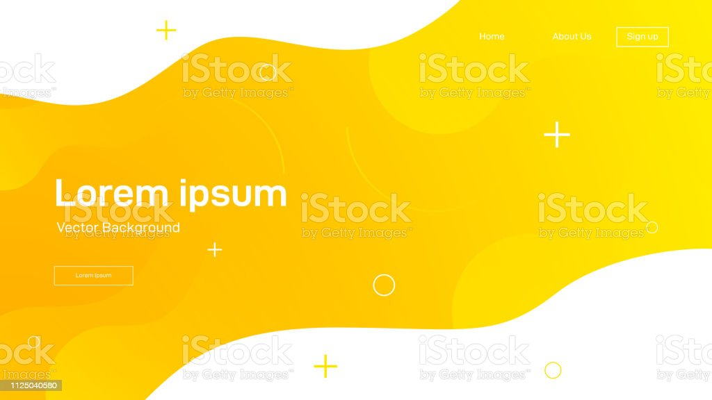 Liquid dynamic background for web sites, landing page or business presentation. Abstract geometric wallpaper. Header for social media.Trendy wavy shapes. Liquid dynamic background for web sites, landing page or business presentation. Abstract geometric wallpaper. Header for social media.Trendy wavy shapes. Vector illustration Abstract stock vector
