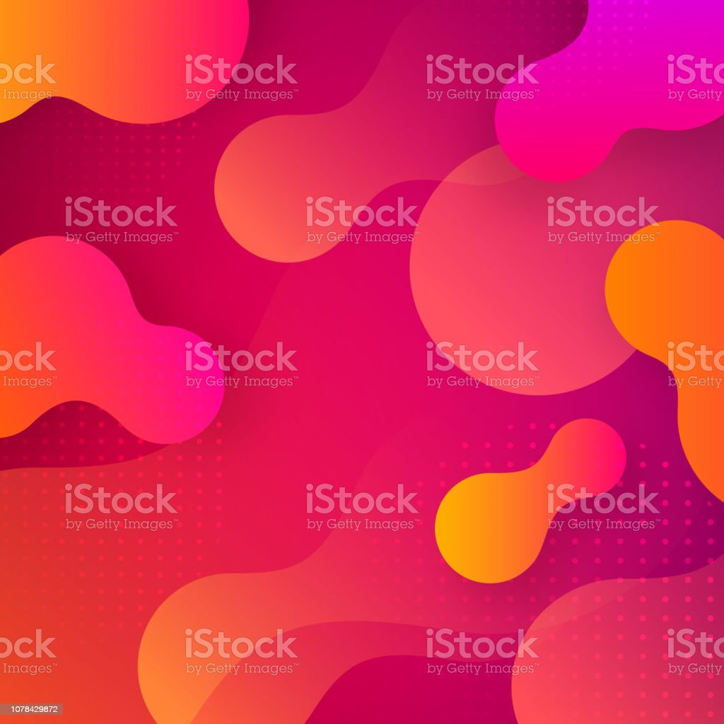 Liquid gradient shapes background. royalty-free liquid gradient shapes background stock illustration - download image now