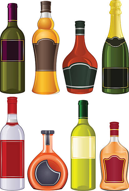 Best Cognac Brandy Illustrations, Royalty-Free Vector Graphics & Clip Art - iStock