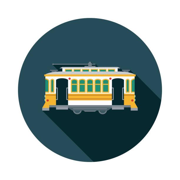 ilustrações de stock, clip art, desenhos animados e ícones de lisbon tram portugal icon - eletrico lisboa