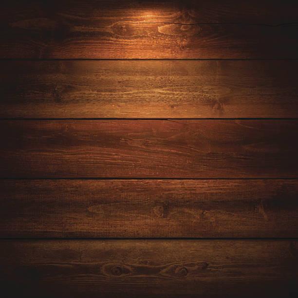 oświetlony drewniane tle - ciemny stock illustrations