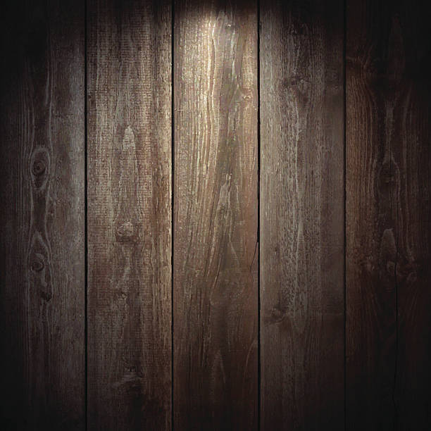 lit wooden background - wood texture stock illustrations
