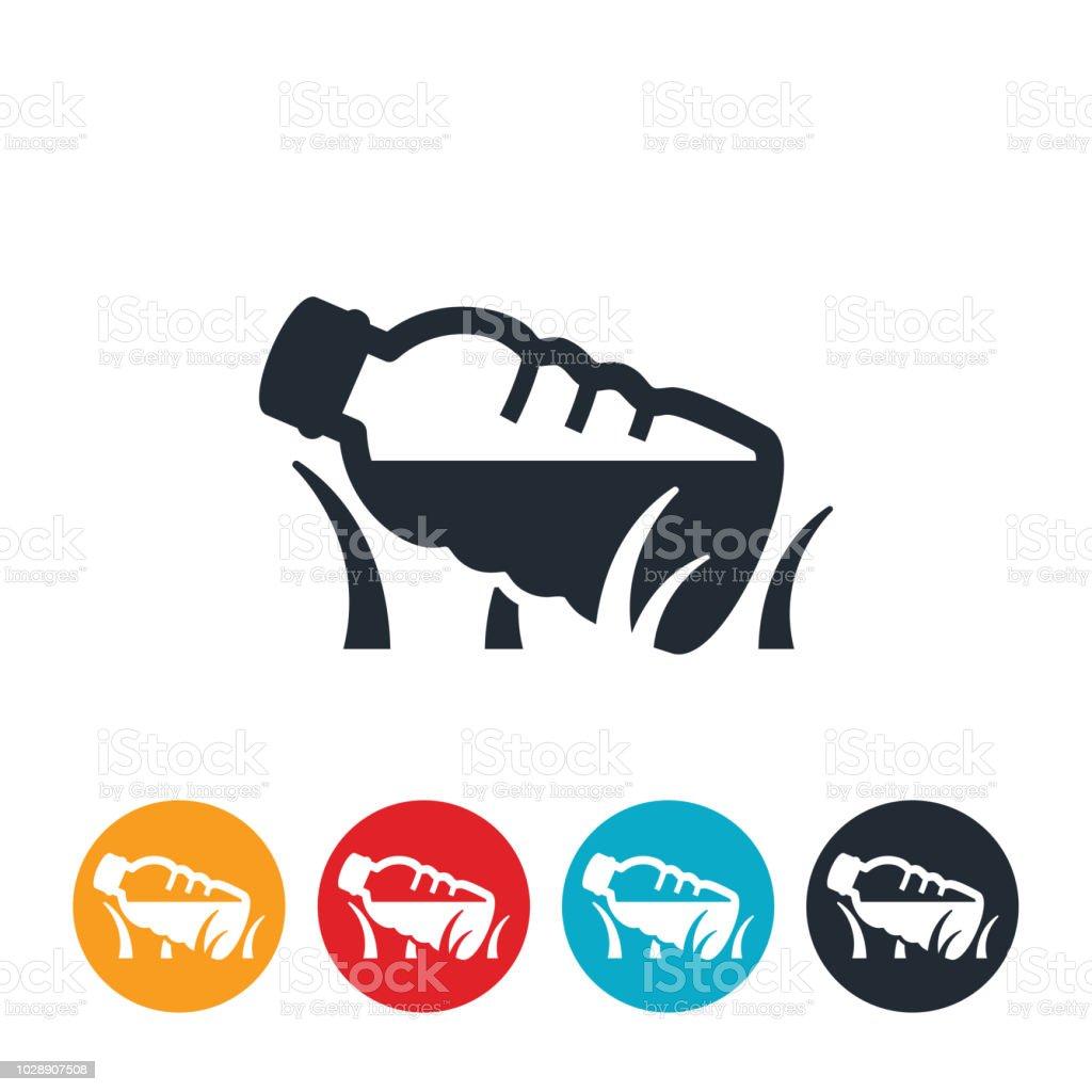 Litter Icon vector art illustration