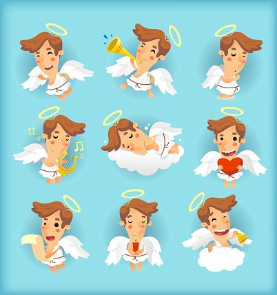Little angel action set
