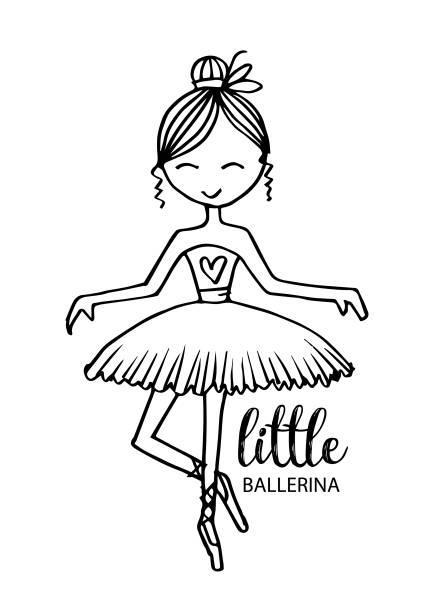 Dancing Ballerina Vector Vector Art Graphics Freevector Com