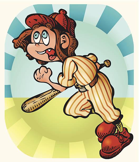 Little Batter vector art illustration