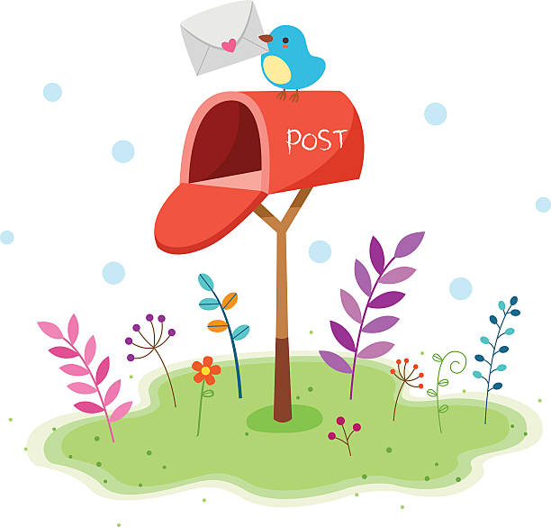 Top 60 Cute Mailbox Clip Art, Vector Graphics and ...