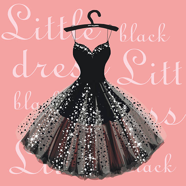 Royalty Free Glitter Dress Clip Art, Vector Images ...