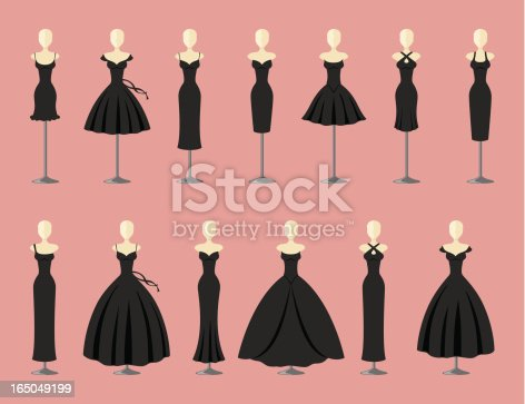 istock Little Black Dresses - incl. jpeg 165049199