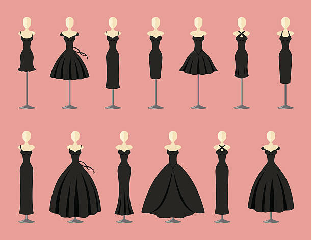 Royalty Free Party Dress Clip Art, Vector Images ...