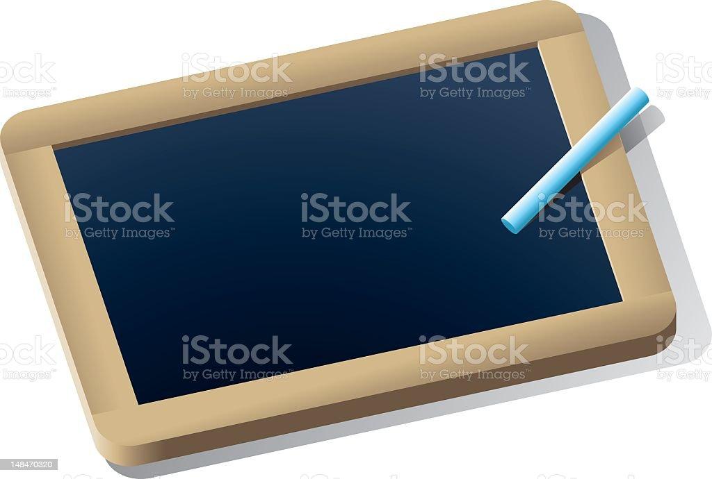Kleine Schreibtafel Stock Vektor Art und mehr Bilder von ...