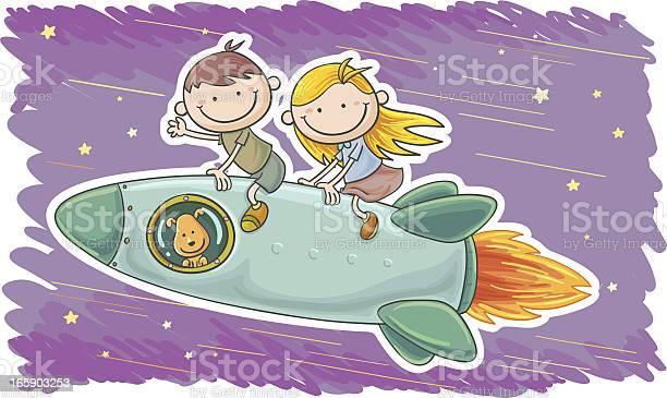 Little boy and girl travel by spaceship vector id165903253?b=1&k=6&m=165903253&s=612x612&h=rntfwoc4ukx vai58zem54xfvkjfrfwoapz3qpfatjm=