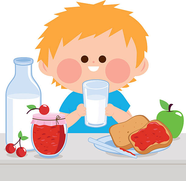 Image result for child drinking milk clipart