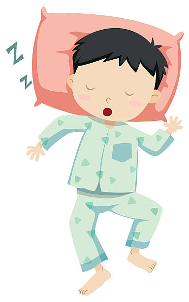 Royalty Free Snoring Clip Art, Vector Images