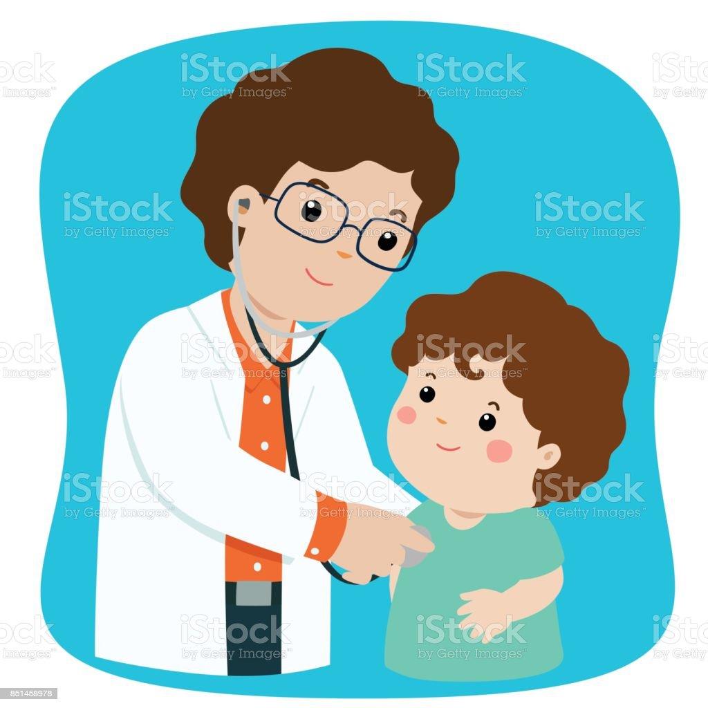 royalty free clip art of pediatricians clip art vector images rh istockphoto com pediatrician doctor clipart