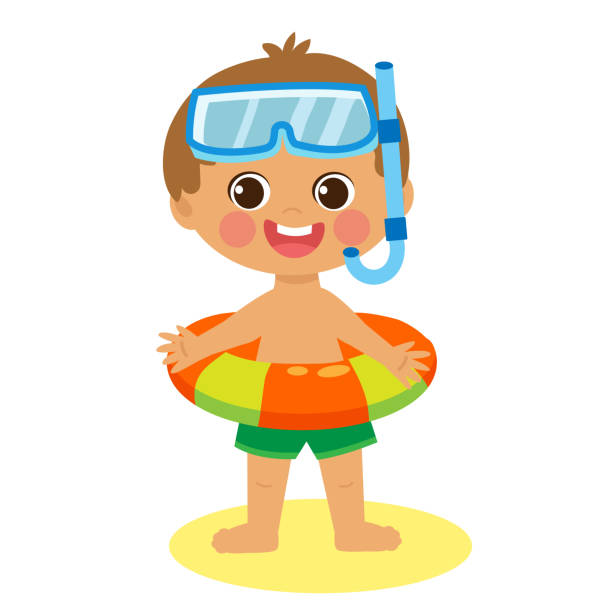 Royalty Free Beach Happy Holidays Clip Art, Vector Images ...