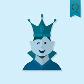 Little Boy With a Crown