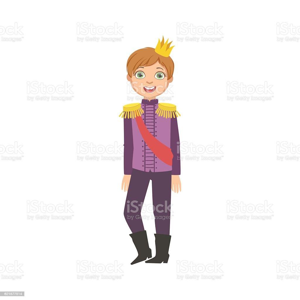 Little Boy With Epaulets Dressed As Fairy Tale Prince little boy with epaulets dressed as fairy tale prince – cliparts vectoriels et plus d'images de articulation du corps humain libre de droits
