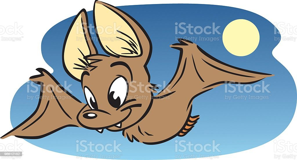 Little Brown Bat - Royalty-free Animal stock vector