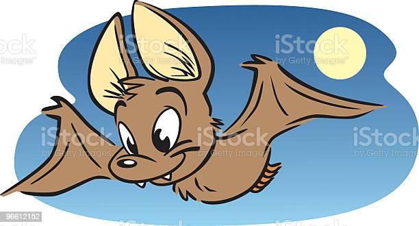 Little Brown Bat-vektorgrafik och fler bilder på Brun - Beskrivande färg