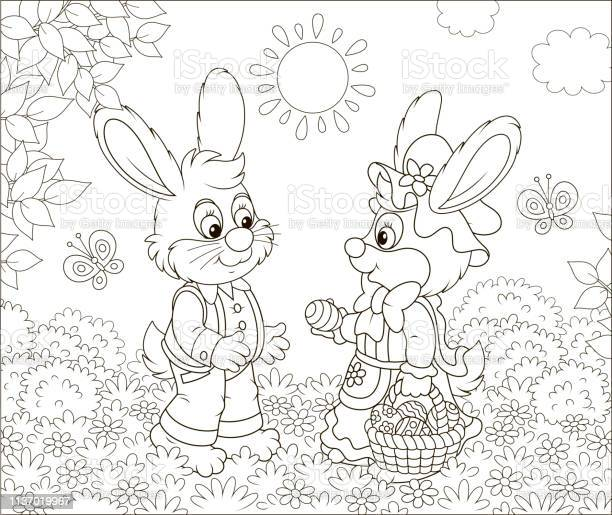 Little bunnies with a decorated easter basket vector id1137019967?b=1&k=6&m=1137019967&s=612x612&h=6vaetu6cgfh2y1d0r31lmtxtee5c y3sexrti eg3tc=