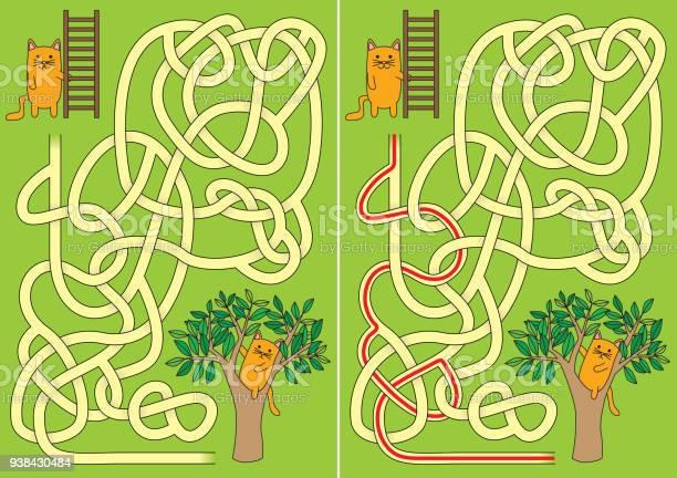 Little cat maze vector id938430484?b=1&k=6&m=938430484&s=612x612&h=kss6oub4xh7uepjstol pcp8nfb8gsir4eiqtolqytm=