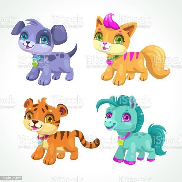 Little cute cartoon animals vector icons set vector id1069493422?b=1&k=6&m=1069493422&s=612x612&h=cj7b6cbljsprto6icrhxc0pl4 00bah9rj8cn7rdxri=