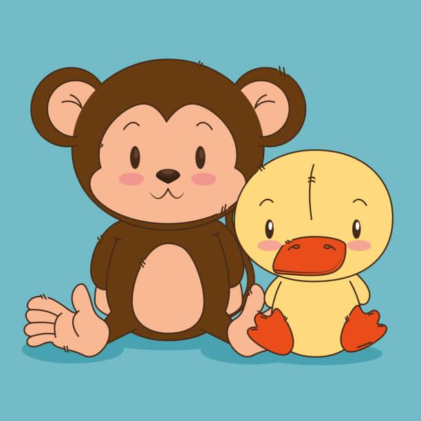 Happy Birthday Monkey Cartoon Illustrations, Royalty-Free ... (612 x 612 Pixel)