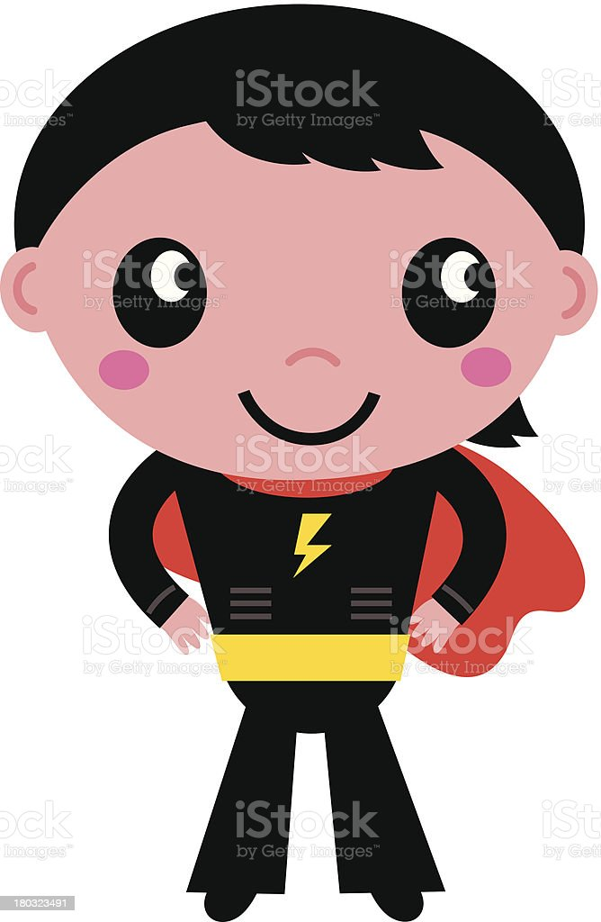 Little cute superhero boy isolated on white royalty-free little cute superhero boy isolated on white stock vector art & more images of adult