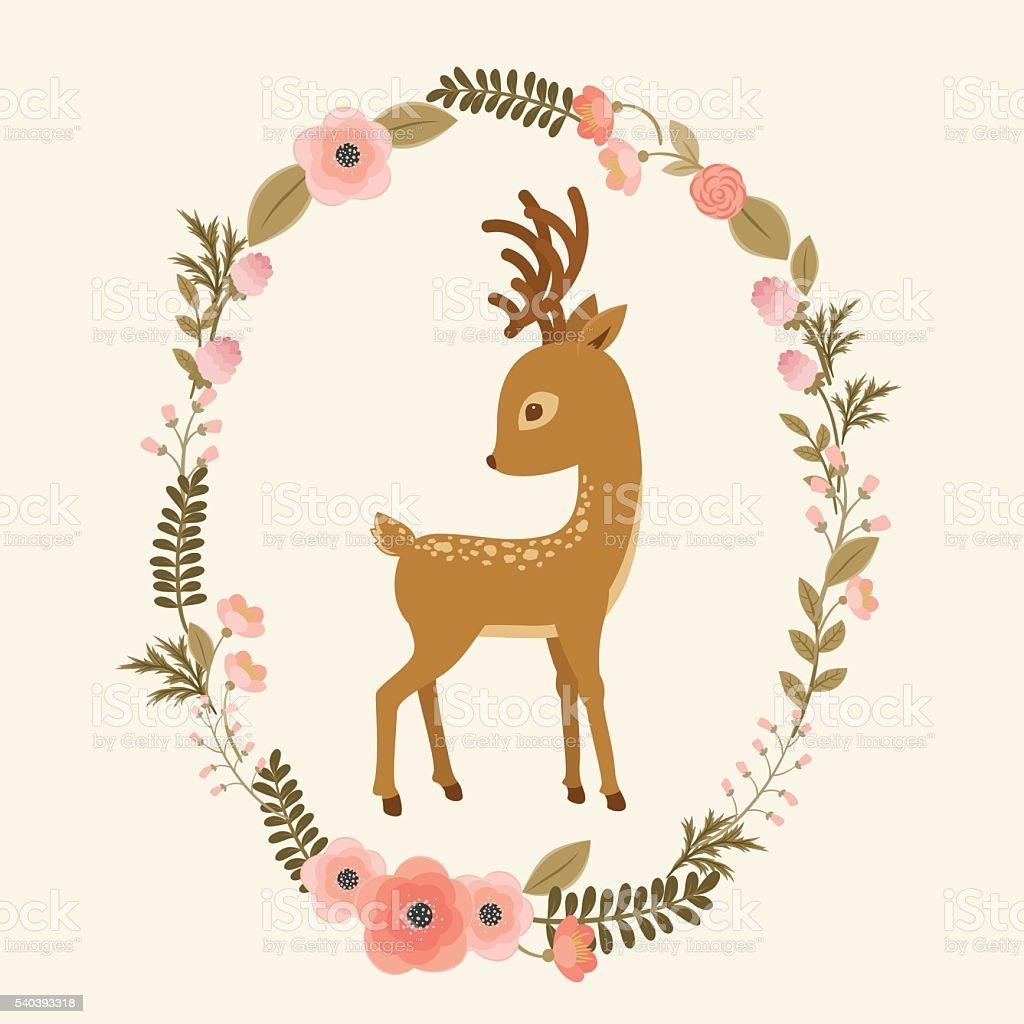 royalty free baby deer clip art vector images illustrations istock rh istockphoto com free baby deer clipart Baby Deer Silhouette Clip Art