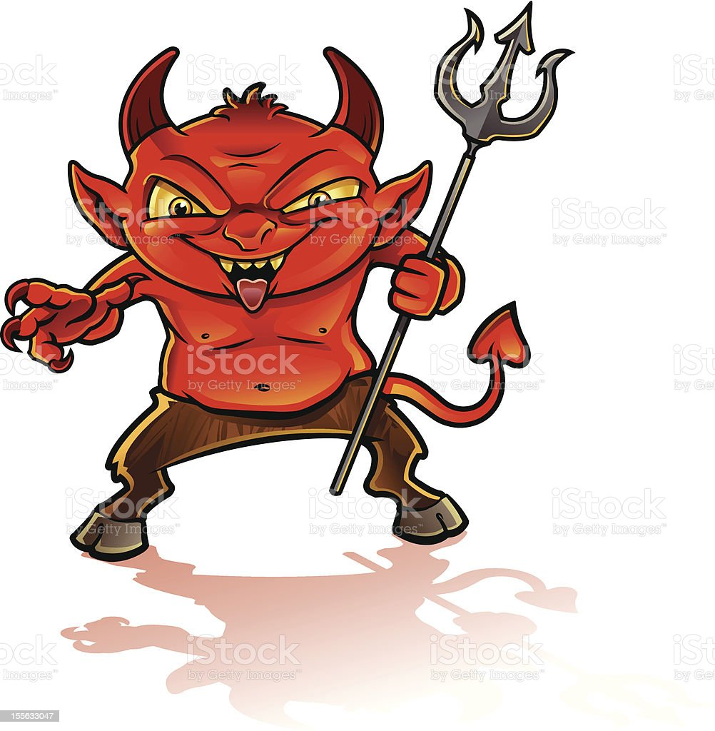 Little Devil royalty-free stock vector art