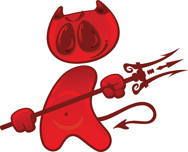 Royalty Free Devil Tail Clip Art, Vector Images ...