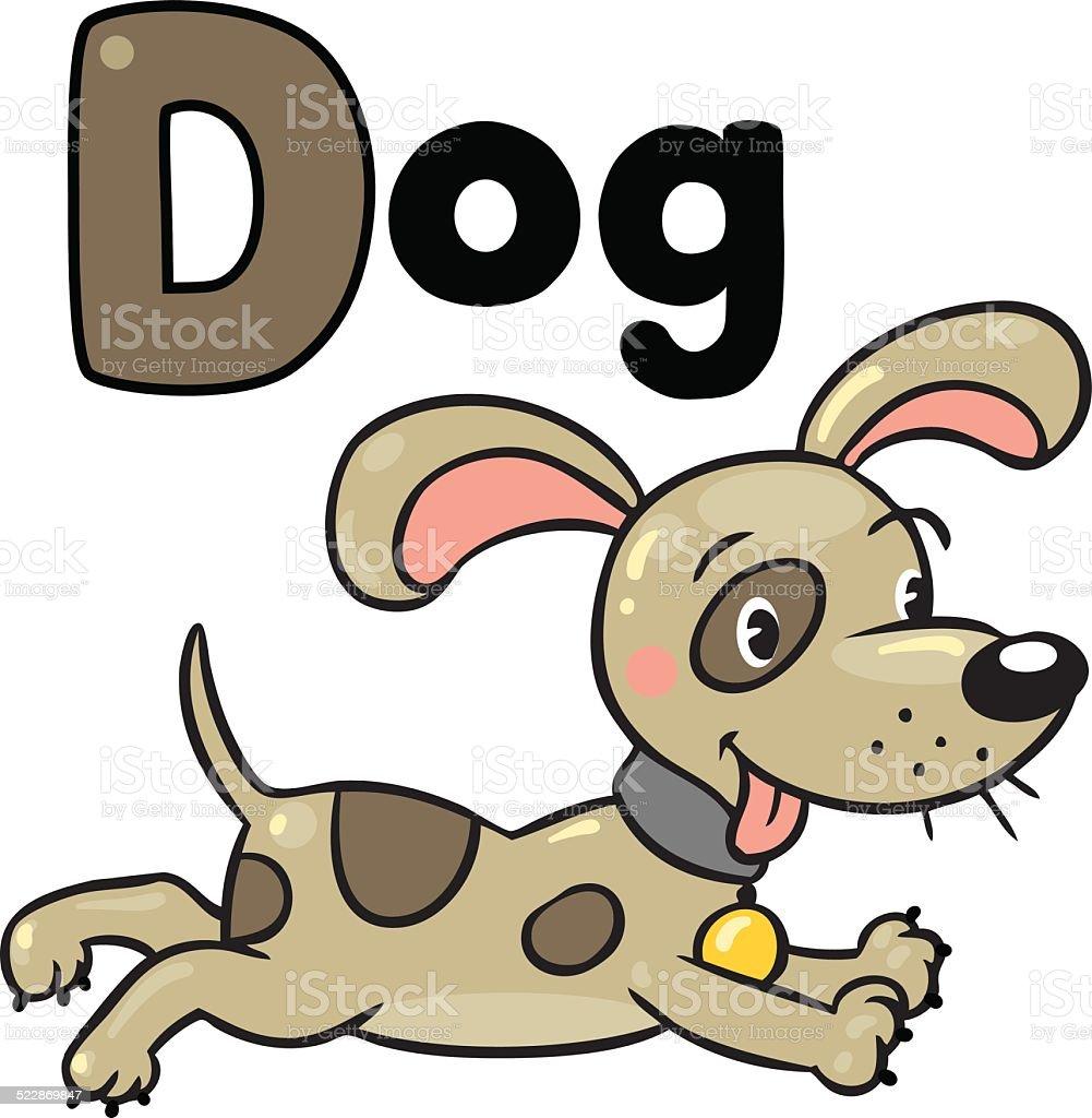 Piccolo Cane O Cucciolo Libro Da Colorare Alfabeto D Immagini