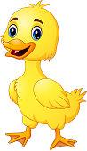 Little duck make a happy
