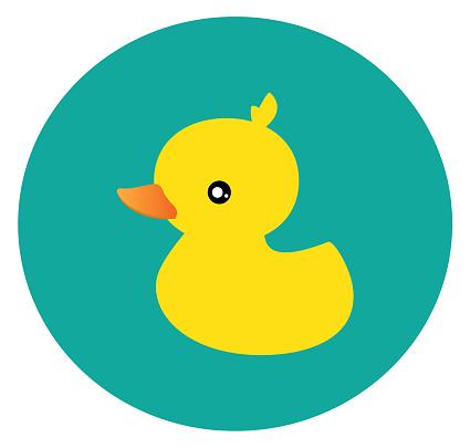 Little Duck Vector Stockvectorkunst en meer beelden van Cartoon